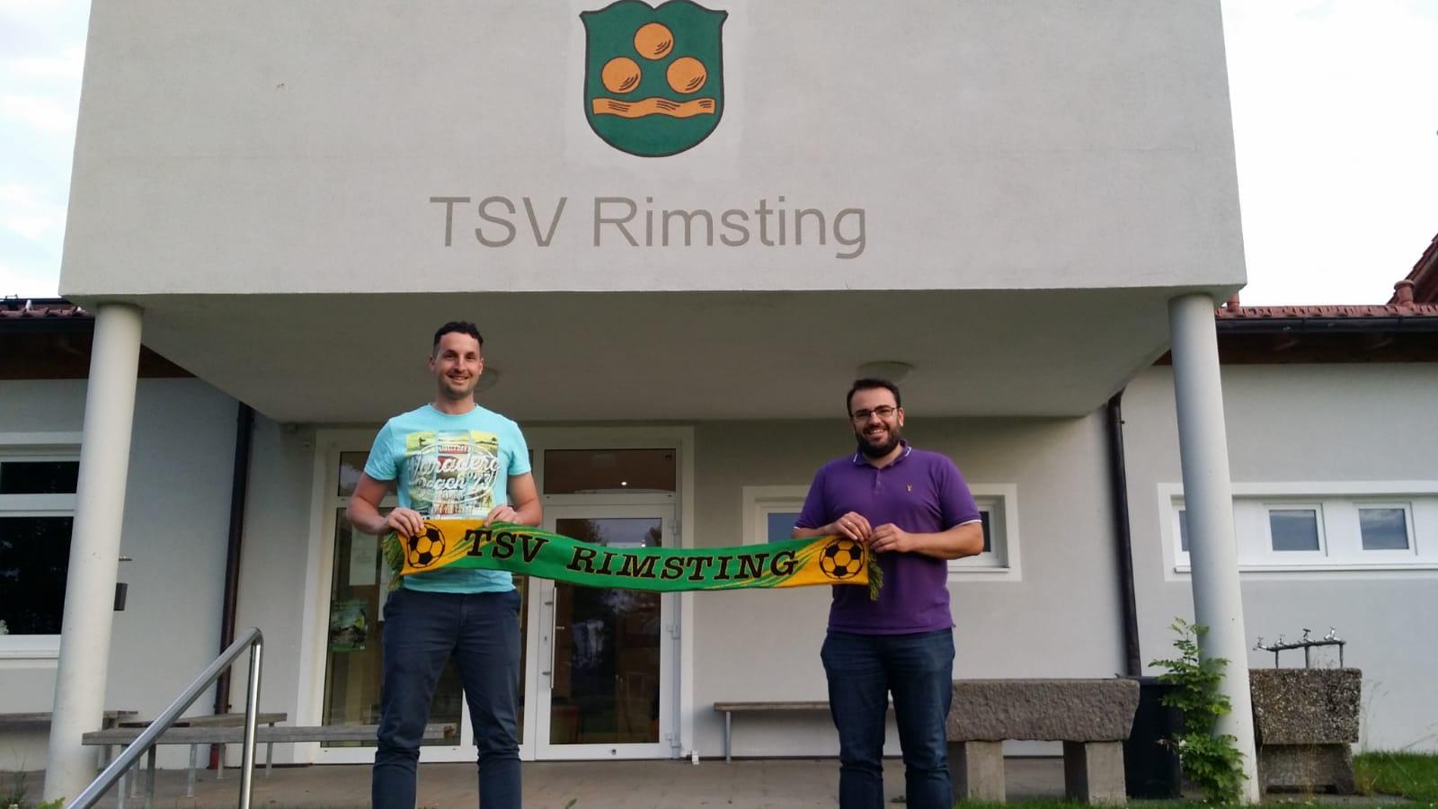 Mitch Hernandez neuer Trainer des TSV Rsimting und Abteilungsleiter Volker Rechberger
